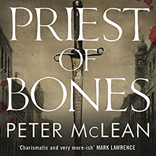 Priest of Bones     War for the Rose Throne              By:                                                                                                                                 Peter McLean                               Narrated by:                                                                                                                                 David Morley Hale                      Length: 10 hrs and 41 mins     4 ratings     Overall 4.3
