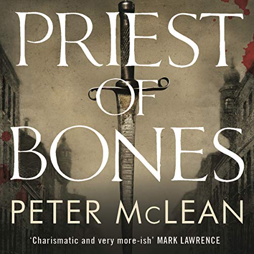 Priest of Bones     War for the Rose Throne              By:                                                                                                                                 Peter McLean                               Narrated by:                                                                                                                                 David Morley Hale                      Length: 10 hrs and 41 mins     3 ratings     Overall 4.7