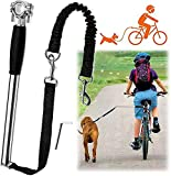 Dog Hands Free Leashes,Dog Bike Leash (Black)