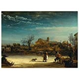 JUNIWORDS Poster, Rembrandt Harmenszoon van Rijn,