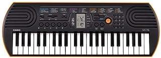 لوحة مفاتيح بيانو صغير من كاسيو، باللون الاسود