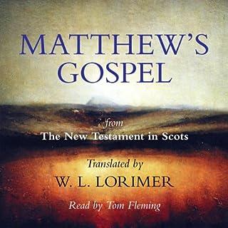 Matthew's Gospel audiobook cover art