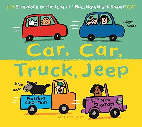 Car, Car, Truck, Jeep [Idioma Inglés]