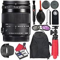 Sigma 18–200mm f / 3.5–6.3DCマクロOS HSMレンズfor Nikon +アクセサリーバンドル