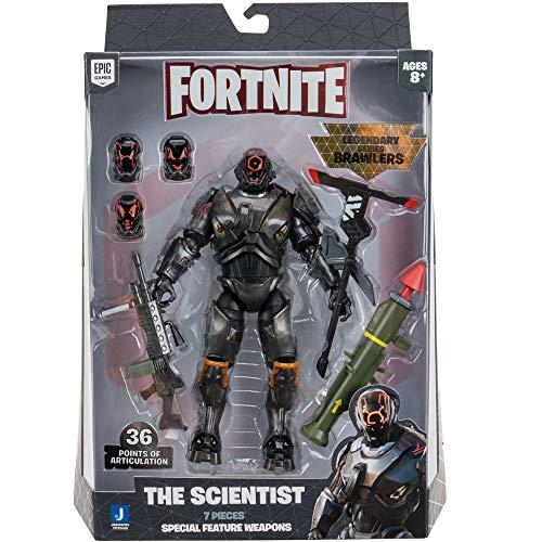 """Fortnite FNT0668 7"""" Leggendary Series Brawlers Figure-The Scientist"""
