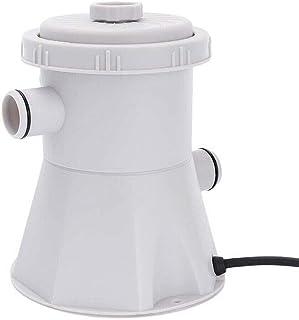 Bomba de filtro, piscina KKmoon Bomba de filtro eléctrico Herramienta de limpieza de agua Piscina sobre el suelo