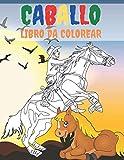 Caballo Libro Da Colorear: Libro De Colorear De Caballos Para Aliviar El Estrés 50 Diseños De Caballos De Una Cara Para Colorear Regalo Para Adultos