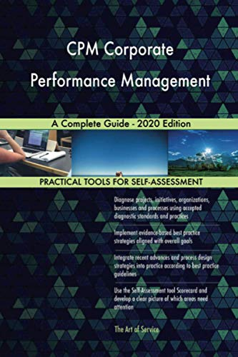 CPM Corporate Performance Management A Complete Guide - 2020 Edition