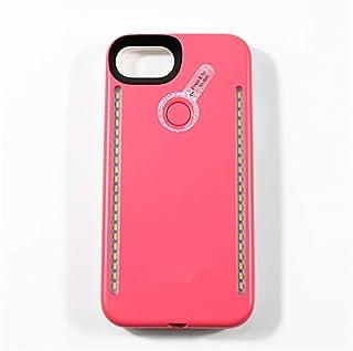 GZCRDZ IPhone6/7/8 Case, LED Illuminated Selfie Light Cell Phone Case Cover [Rechargeable] Light Up Luminous Selfie Flashl...