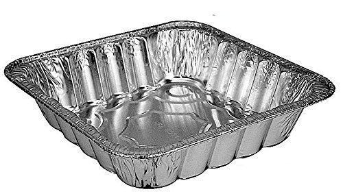 Handi-Foil Lg.10' x 10' Square Aluminum Foil Poultry/Cake Baking Pan (Pack of 20)