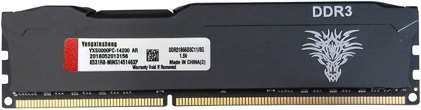 Yongxinsheng 8GB 1866MHz DDR3 DIMM PC3 Desktop General Memory Ram Iron Shell
