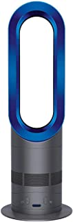 【並行輸入品】Dyson AM04 Hot + Cool Heater/Table Fan, Blue