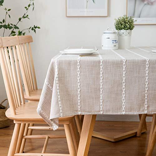 Mantel Rectangular poliéster algodón Simple Estilo