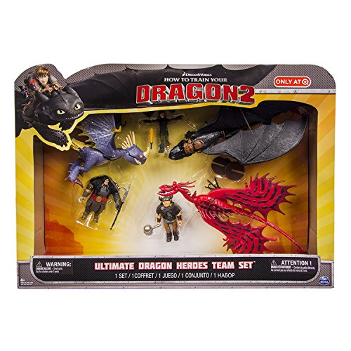 Spin Master How to Train Your Dragon 2 Ultimate Dragon Heroes Team Set Exclusive