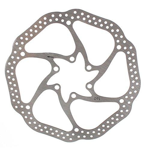sourcing map Recambio Disco de Freno para Bicicleta de Montaña 16cm Diámetro,...