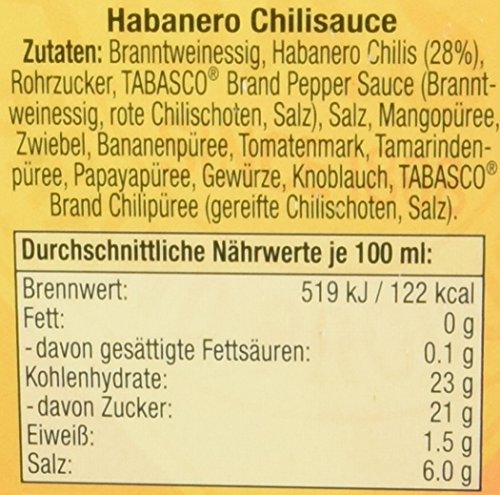 TABASCO Habanero Sauce 60 ml - 6