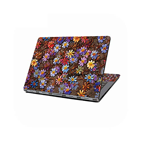Peach-girl - Adhesivo decorativo universal para ordenador portátil de 12', 13,3', 14', 16', 17', HP, Dell Lenovo Compaq Acer-43218-17 pulgadas (41,5 x 29 cm)