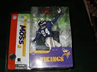McFarlane Toys NFL Sports Picks Series 10 Action Figure Randy Moss (Minnesota Vikings) Purple Jersey