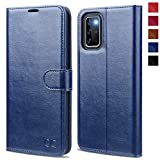 OCASE Galaxy S20 Plus Wallet Case, Galaxy S20+ Plus PU Leather Flip Case with RFID Blocking Card Holder Kickstand Magnetic Closure, Shockproof Phone Cover for Samsung Galaxy S20 Plus 6.7 Inch (Blue)