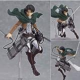 Klycbds Anime Attack On Titan Levi Figura De Acción Mikasa Ackerman Eren Yeager Móvil Ensamblar Esta...