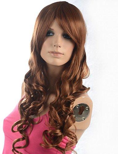 Pratique Mode Perruques cheveux européens femmes ombre Fashion naturelles ondulé Janpanese résistants à la chaleur cheveux synthétiques perruque cp9t-113b-P27–30 26 \