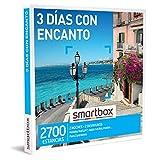 SMARTBOX - Caja Regalo - 3 días con Encanto - Idea de Regalo - 2 Noches con Desayuno para 2 Personas