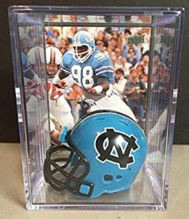 04684a34b4f North Carolina Tar Heels NCAA Helmet Shadowbox w/ Lawrence Taylor card