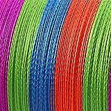 Xu Yuan Jia-Shop Línea de Pesca sedal 4 hebras Trenzadas línea 10 0M 300M 10-80LB PE Multifilamento tresse Peche 4 Trenza Línea Trenzado de Pescar (Color : Multi, Line Number : 300M 0.16MM 18LB)