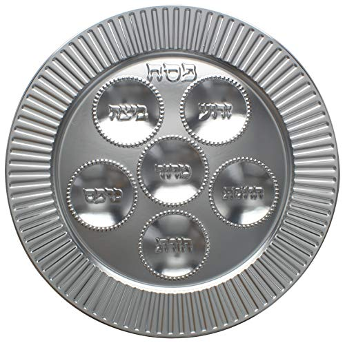 Cazenove Disposable Foil Seder Plate for Passover, 32.5cm