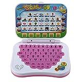Dilwe Giocattolo per Laptop per Bambini, Giocattolo per Studio Educativo Bilingue per Bambini Gioco per Computer Portatile Regalo per Bambini