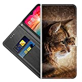 vingarshern Klapphüllen für Google Nexus 5 Handyhülle Flip Hülle Etui Lederhülle Tasche Handytasche Google Nexus5 Lite Hülle Leder Klappbares Brieftasche Schutzhülle,YJS04P-03