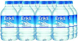 Erikli Bottled Natural Mineral Water PET - 330 ml, Count of 12