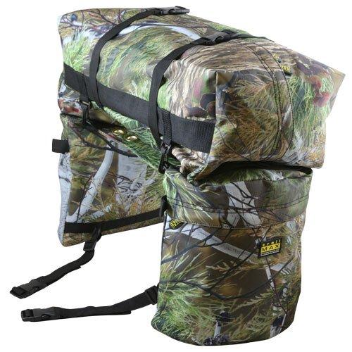 Trailmax Junior - Set de alforjas con bolsa para borrén trasero - Equipaje para silla vaquera de cowboy -...