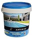 Pintura de Piscinas al Agua, con aditivo antihalgas (5 Kg, Azul)