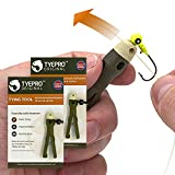 TYEPRO Fishing Knot Tying Tool/Jig Head and Hook Eyelet Grip/Line Threader/Clipper for Shaky Hands and Poor Eyesight. Tackle Box Accessory for Crappie, Bass, Walleye and Catfishing (2 Pack)