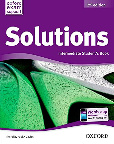 Solutions Intermediate Student's Book Pack 2ª Edición (Solutions Second Edition) - 9788467382013