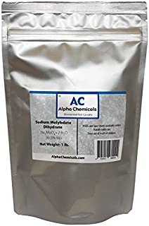 1 Pound - Sodium Molybdate - Na2MoO42H2O, 99% Pure