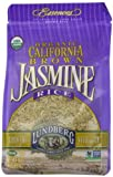 Lundberg Family Farms Organic Jasmine Rice, California Brown, 16 Ounce (Pack of 6)
