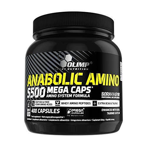 Olimp Kapseln Anabolic Amino 5500 Mega Caps, 400 Kapseln