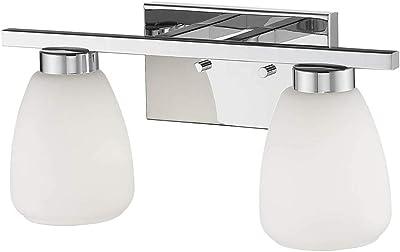 Black Finish Cal Lighting SL-954-1-BK//OSA Spot Light with Amber Glass Shades