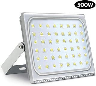 500W LED-Floodlight,IP67 Led Outdoor Floodlight,6500K Daylight White Security Lights,8000LM Led Light for Garden Yard Warehouse Square Roads Streets Billboard,Super Bright LED Flood Light.