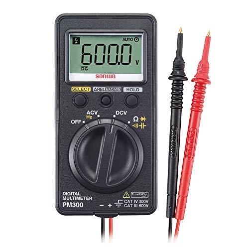 三和電気計器 デジタルマルチメータ PM300 ケース付き