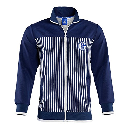 FC Schalke 04 Trainingsjacke Retro-Stripes (M)