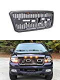VZ4X4 Front Grill for Ford F150 2004 2005 2006 2007 2008 Raptor Style Grill, GRAY COLOR (US STOCK)-We ship two packages to you for grille(fedex) and letter(USPS)!!!!!!
