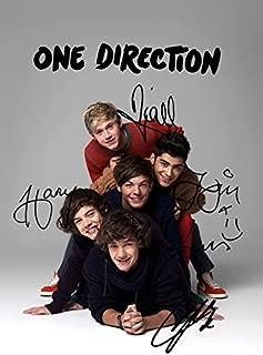 One Direction 1D (11.7 X 8.3) Pop Music Print Niall Horan Harry Styles Zayn Louis Liam