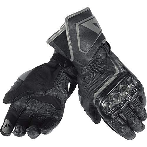 Dainese-CARBON D1 LONG Handschuhe, Schwarz/Schwarz/Schwarz, Größe XXXL