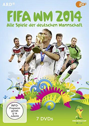 FIFA WM 2014 - Alle Spiele der deutschen Mannschaft [7 DVDs]