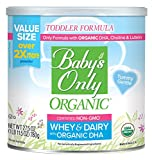 Baby's Only Whey Protein with DHA Toddler Formula - Non GMO, USDA Organic, Clean Label Project...