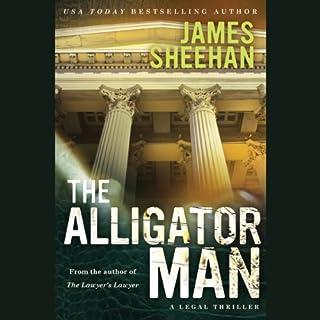The Alligator Man audiobook cover art