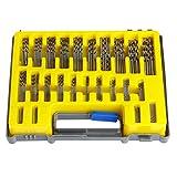 Latinaric 150 Pièces Mini Drill Foret à Bois En HSS Jeux De Forets 0.4-3.2mm